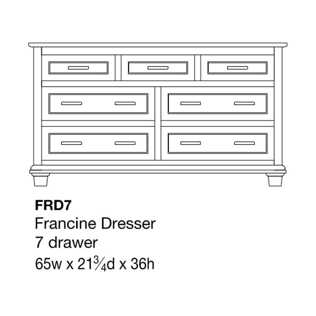 """Francine 65"""" Dresser"""