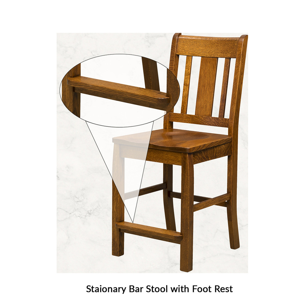 Batavia Stationary Bar Stool