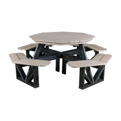 """50"""" Octagon Picnic Table (Poly)"""