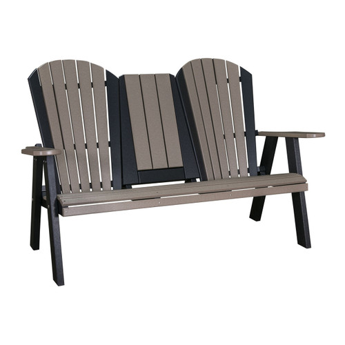 "60"" Adirondack Loveseat (Poly)"