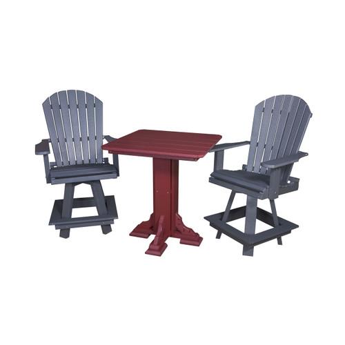 High Bar Swivel Chair (Poly)