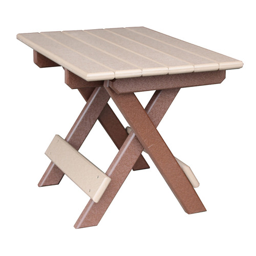 Outdoor Folding End Table