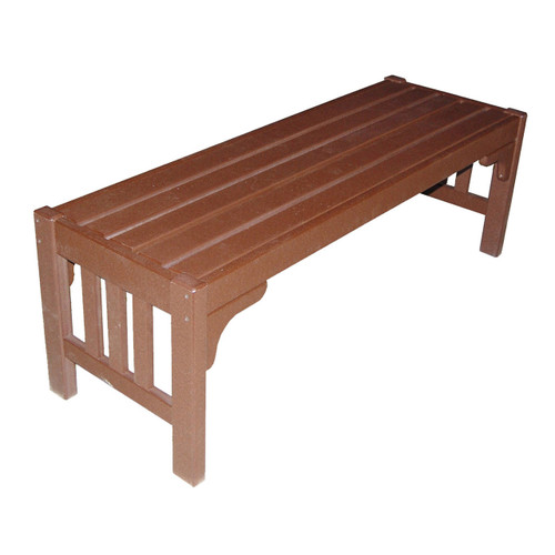 Outdoor Mission Bench (Without Back)