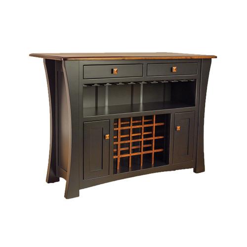 Arts & Crafts Bar Cabinet