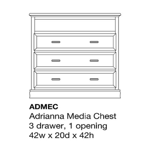 Adrianna Media Chest