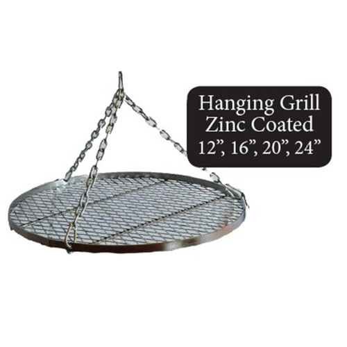 Fire Pit Hanging Grill