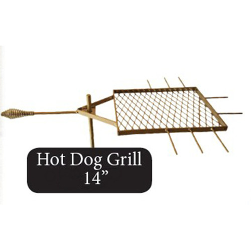 Fire Pit Hot Dog Stick & Grill