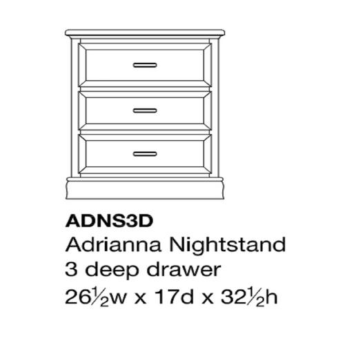 Adrianna Nightstand