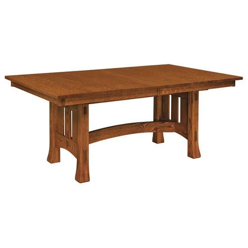 Olde Century Mission Trestle Table