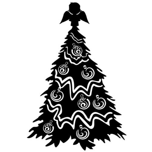 Christmas Tree Metal Wall Art