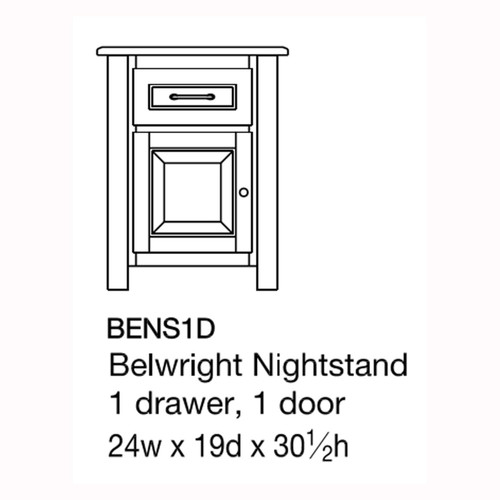 Belwright Nightstand