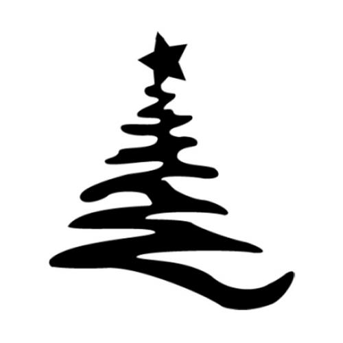 Metal Christmas Tree Ornament