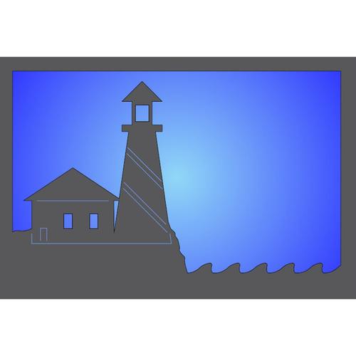 Metal Light Box (Lighthouse II)