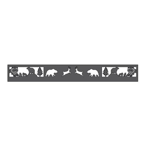 Metal Fire Ring (Bears & Bucks)