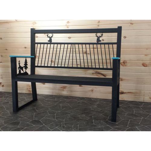 Metal Park Bench (Bucks)