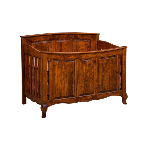 French Country Crib 3-in-1 (Panel Front)