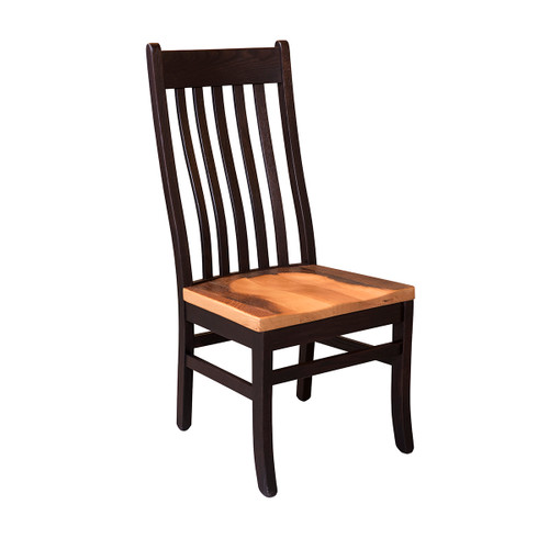 Mission Dining Chair (Barnwood Seat)