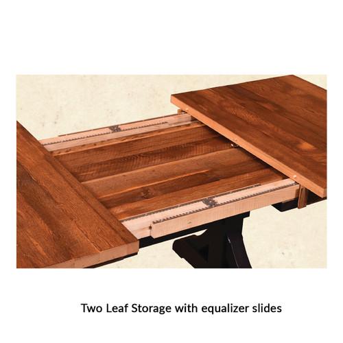 Almanzo Table (Barn Wood / Extendable)