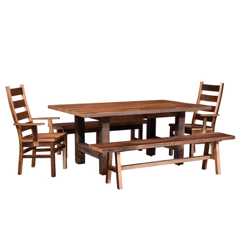 Grove Table (Barn Wood / Extendable)
