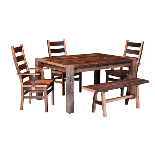 Timber Ridge Pub Table (Barn Wood / Square)