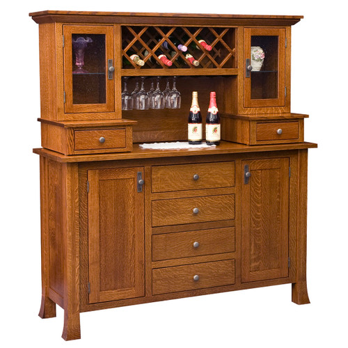 Old Century Wine Buffet (with Hutch)
