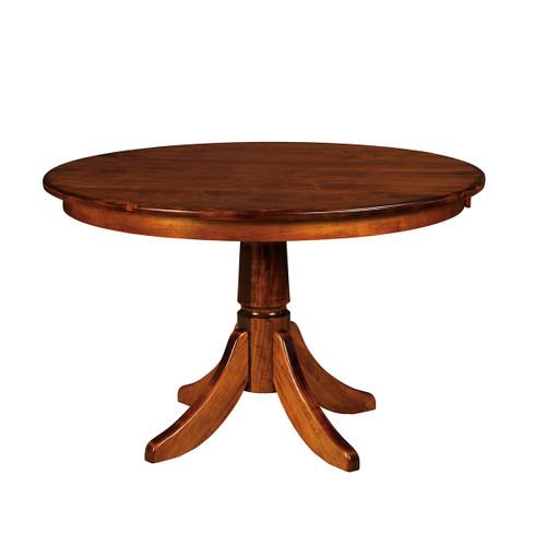 Baytown Oval Single Pedestal Table