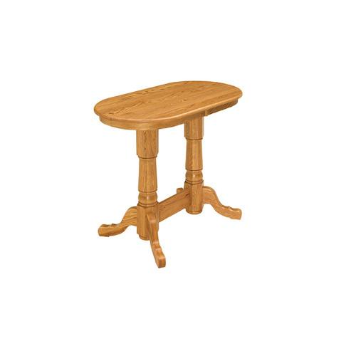 Double Pedestal Pub Table