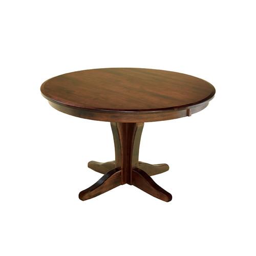 Vintage Single Pedestal Table