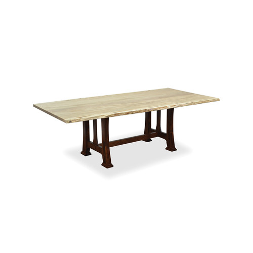 Custer Trestle Table (Bookmatch Live Edge)