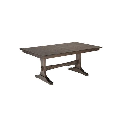 Wasilla Trestle Table (Bookmatch Live Edge)