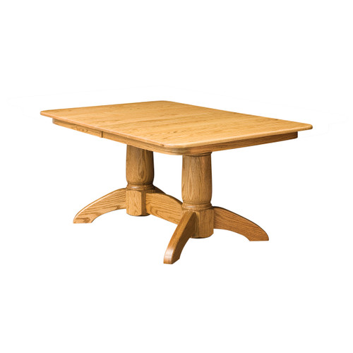Tuscan Double Pedestal Table