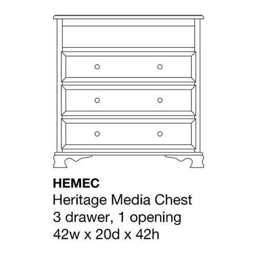 Heritage Media Chest