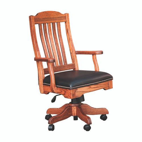 Royal Desk Arm Chair (Gas Lift)
