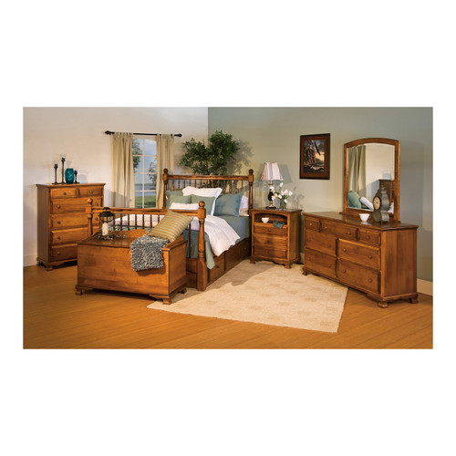 Heritage Armoire Chest on Chest