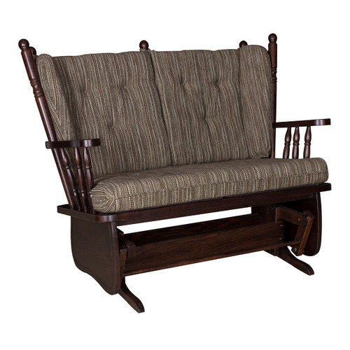 4-Post High Back Loveseat Glider