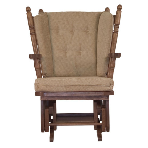 4-Post Low Back Swivel Glider