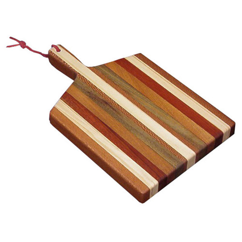 Exotic Woods Cutting Board (with Handle)