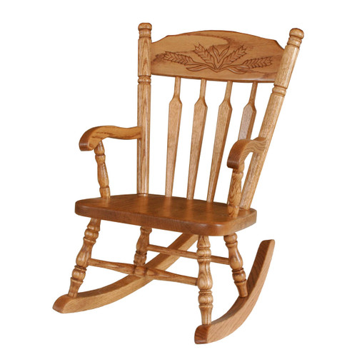Child's Rocker (Wheat Top Rail)