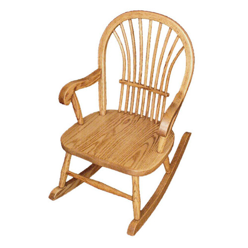Child's Rocker (Sheaf Back)