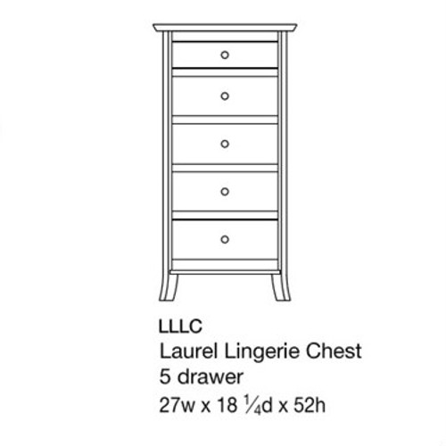 Laurel Lingerie Chest