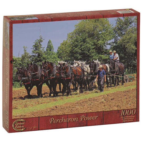 Percheron Power Jigsaw Puzzle