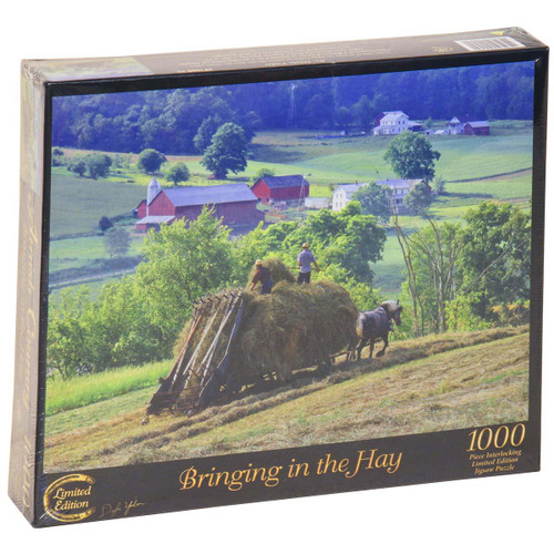 Bringing in the Hay Jigsaw Puzzle