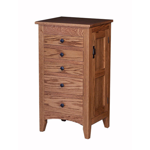 Flush Mission Jewelry Armoire