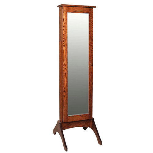 Jewelry Mirror (with Sliding Door)