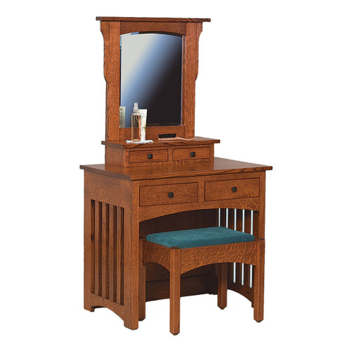 Royal Mission Dressing Table With Bench