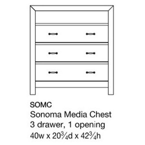 Sonoma Media Chest