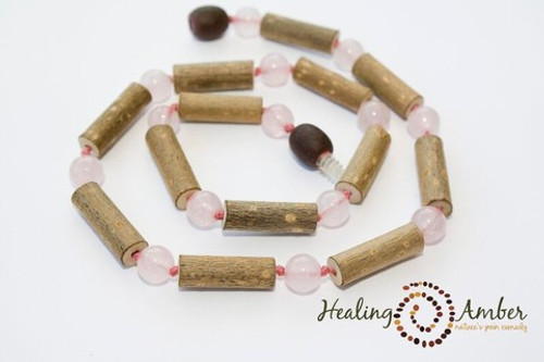 Healing Amber Adult Hazelwood Necklace