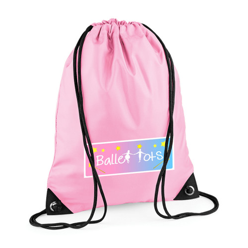 REBECCA JACKSON DANCE ACADEMY BRANDED PULL STRING BAG