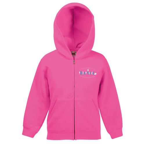 RUTH STEIN SCHOOL OF DANCE BRANDED HOODIE (Pink)