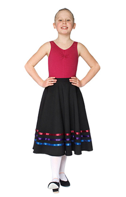 SONYA NICHOLS SCHOOL OF DANCE RAD CHARACTER SKIRT (BRIGHTS) GRADE 3 +